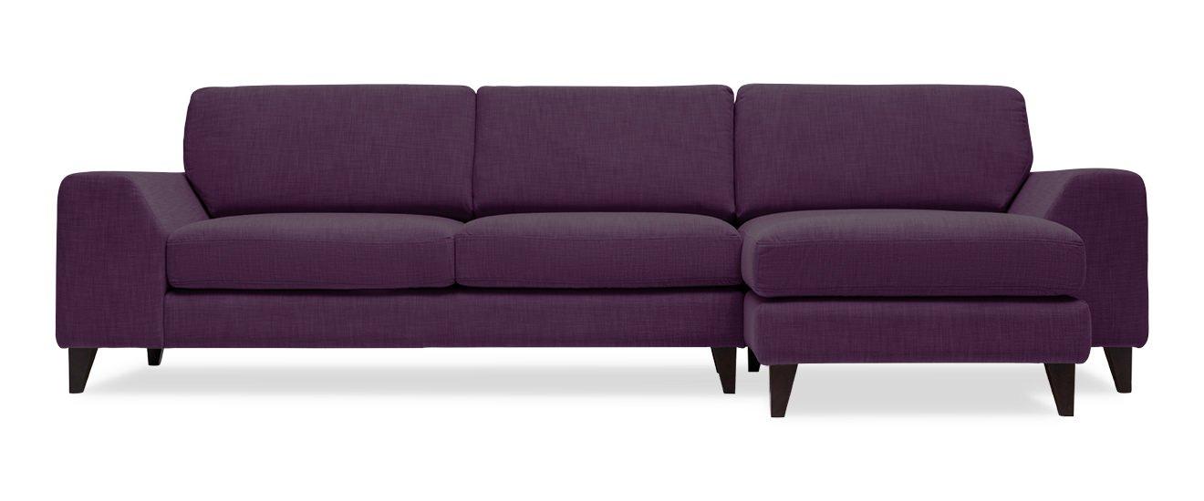 Sofa mit Chaiselongue Ancona