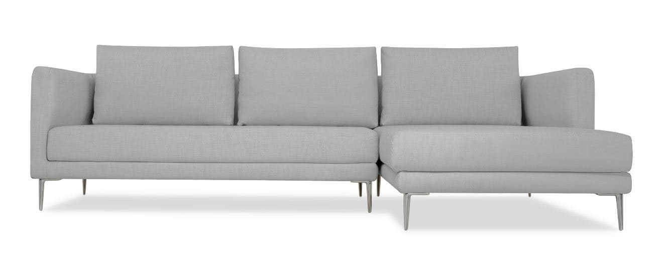 Sofa mit Chaiselongue Piazza