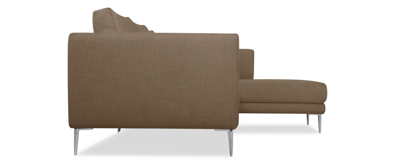 Sofa mit Chaiselongue Piazza