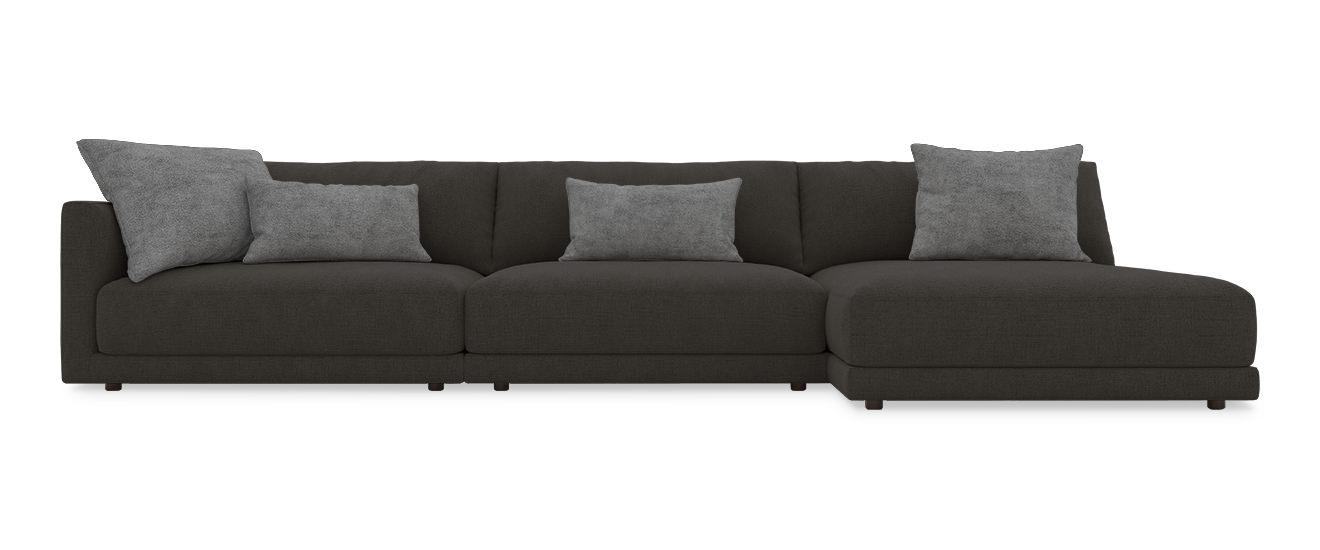 Sofa mit Chaiselongue Porto