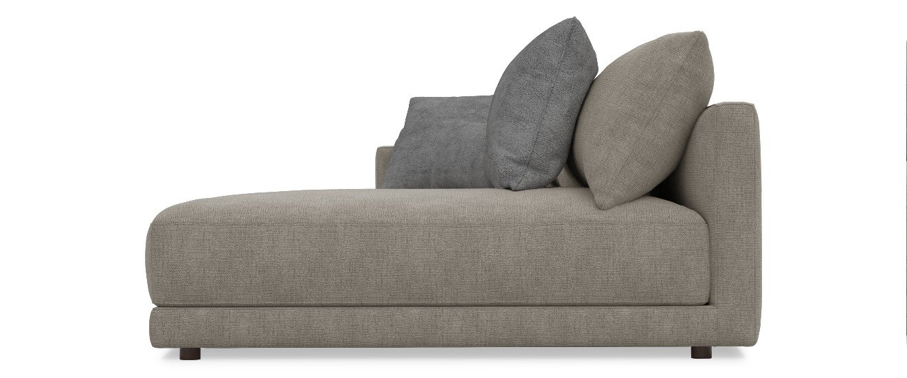 Sofa mit Chaiselongue Porto