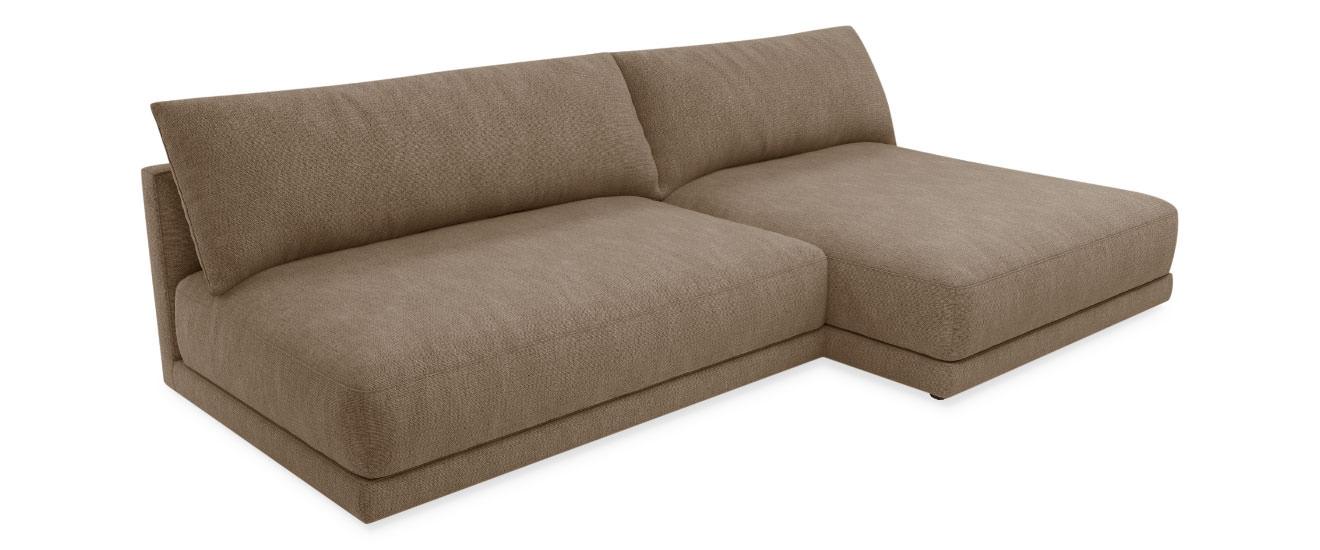 Mini Sofa mit Chaiselongue Porto