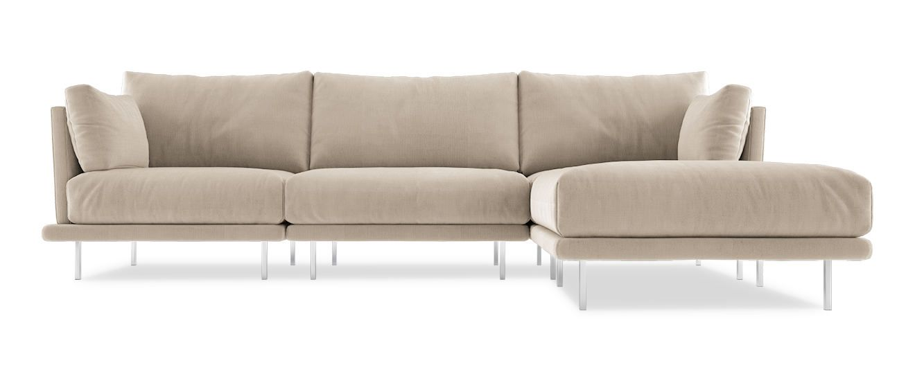 Sofa mit Chaiselongue Villa