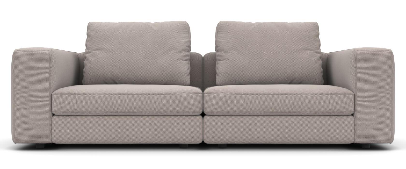2-Sitzer Schlafsofa Domino