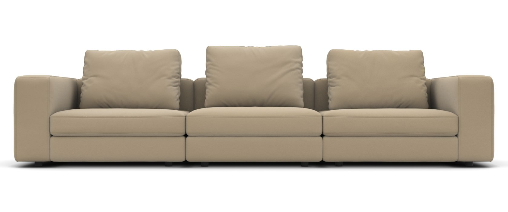 3-Sitzer Schlafsofa Domino