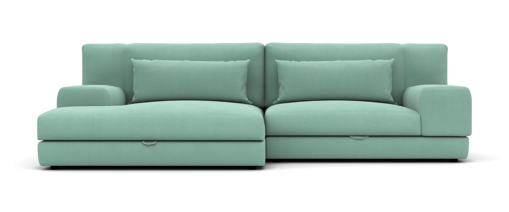 Schlafsofa mit Chaiselongue Latina