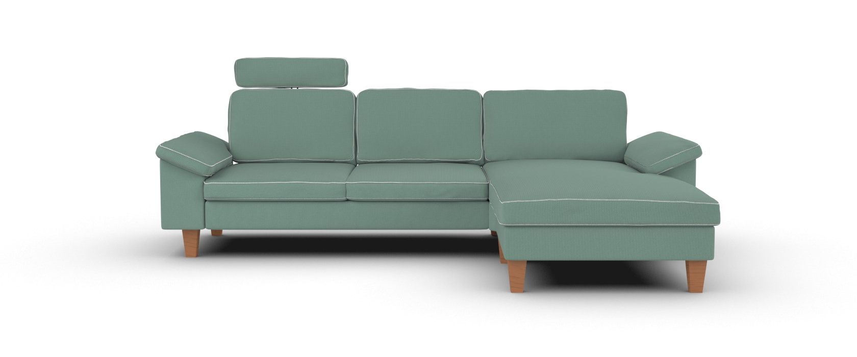 Sofa mit Chaiselongue Como
