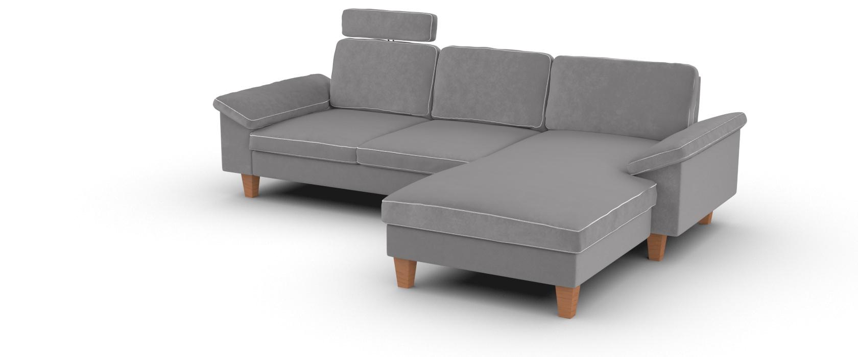 Sofa mit Chaiselongue Como