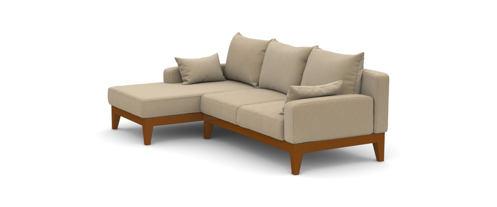 Sofa mit Chaiselongue Lobby