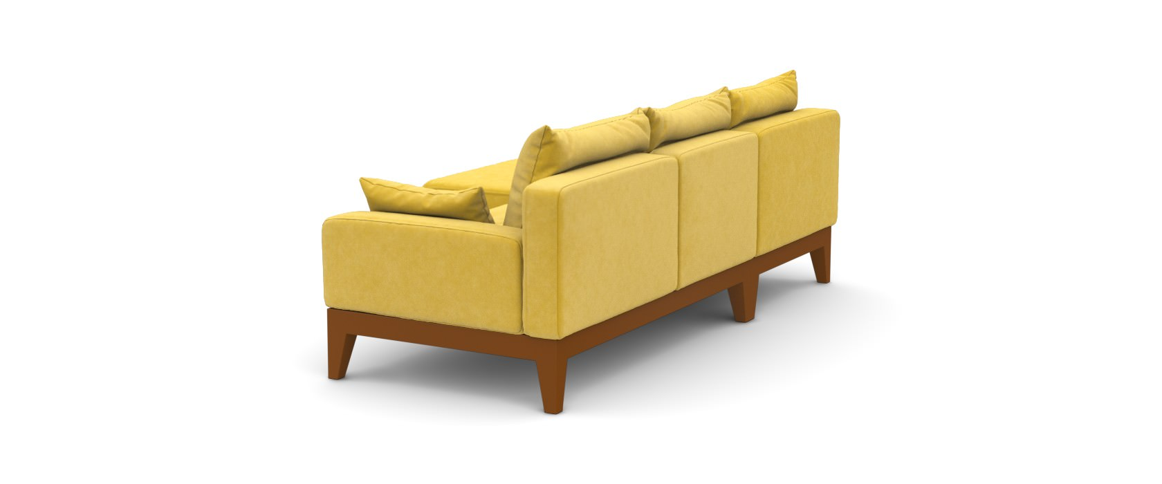 Sofa mit Chaiselongue Lobby