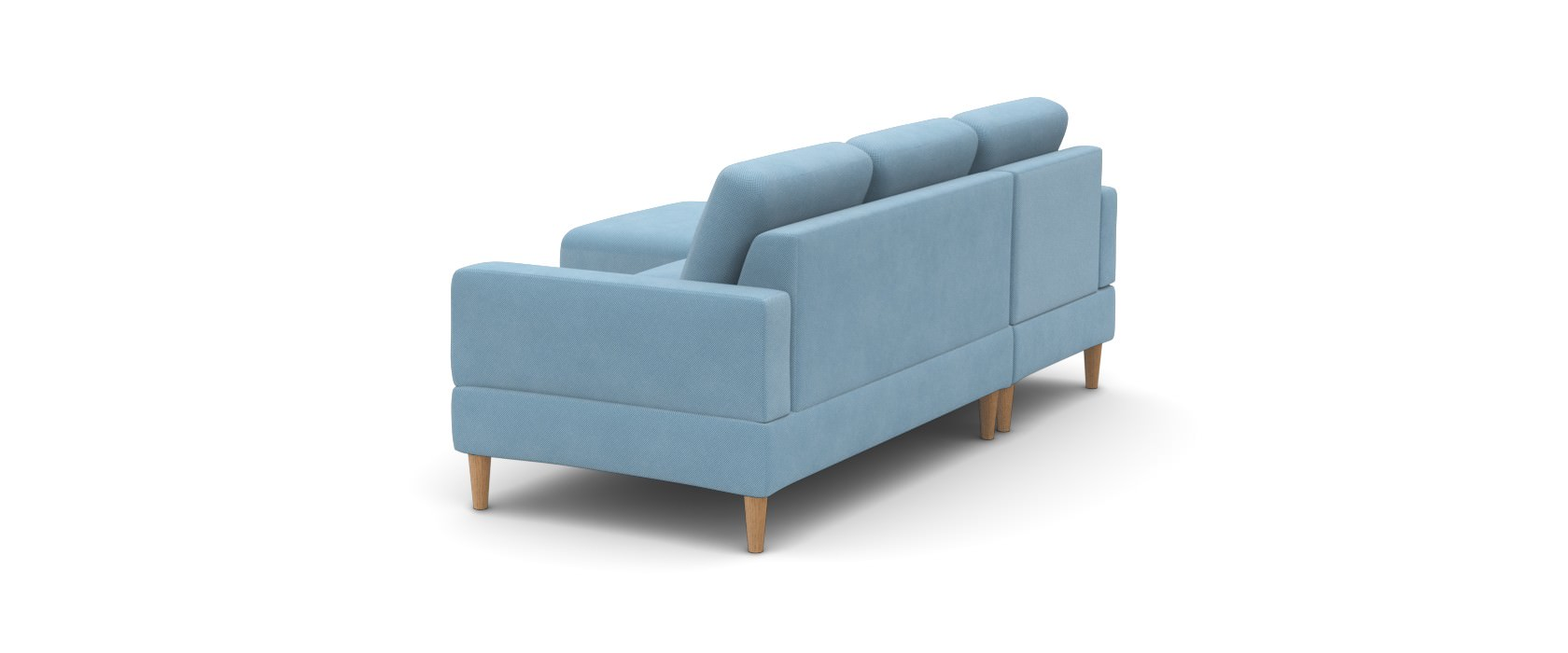 Sofa mit Chaiselongue Manfredo