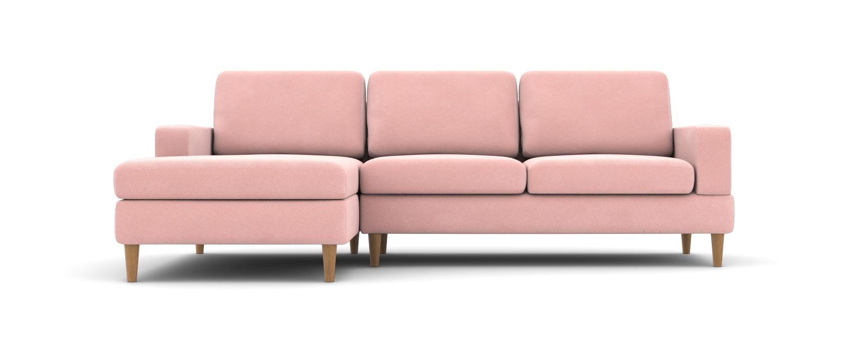 Sofa mit Chaiselongue Manfredo