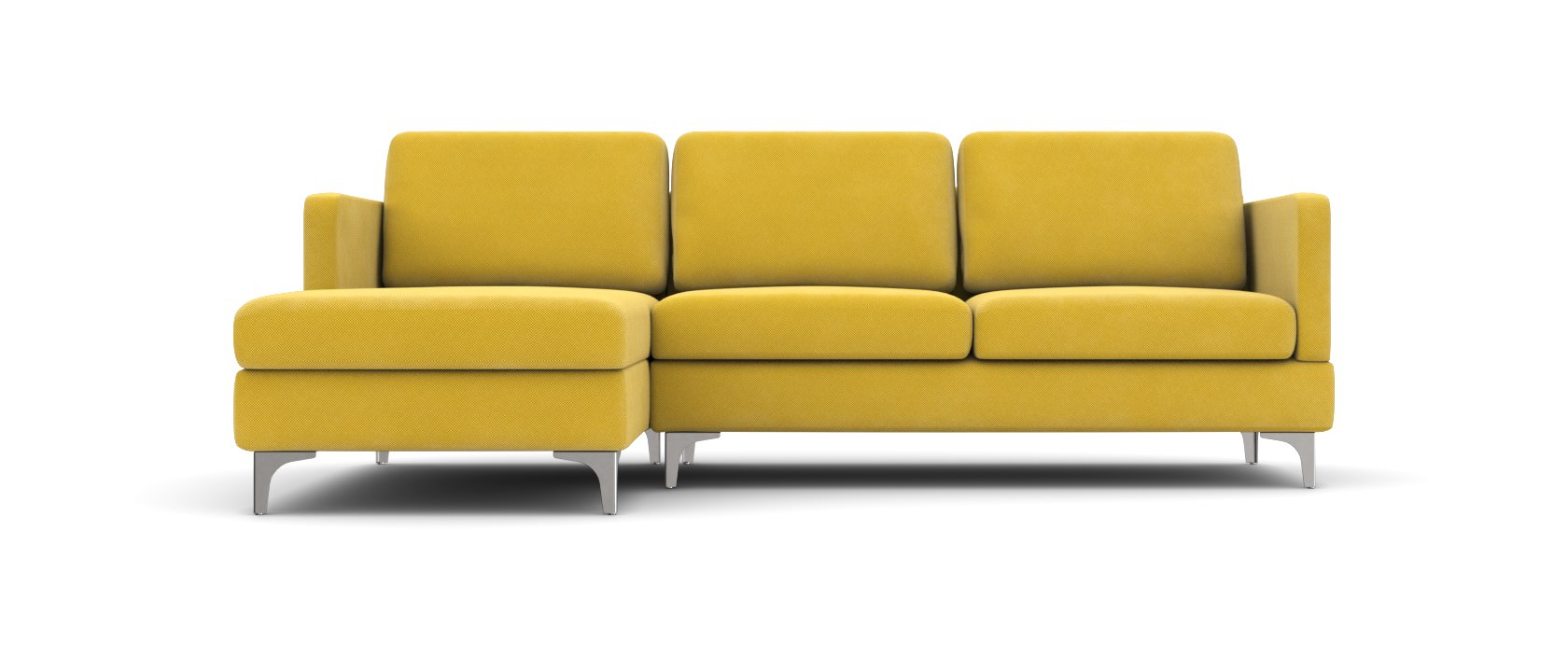 Sofa mit Chaiselongue Manfredo Club