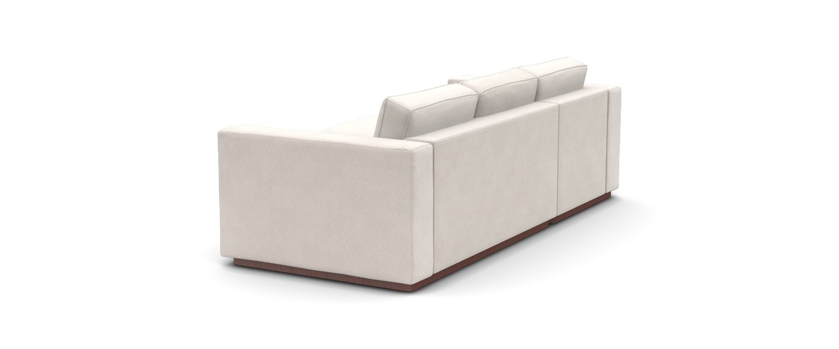 Sofa mit Chaiselongue Milano