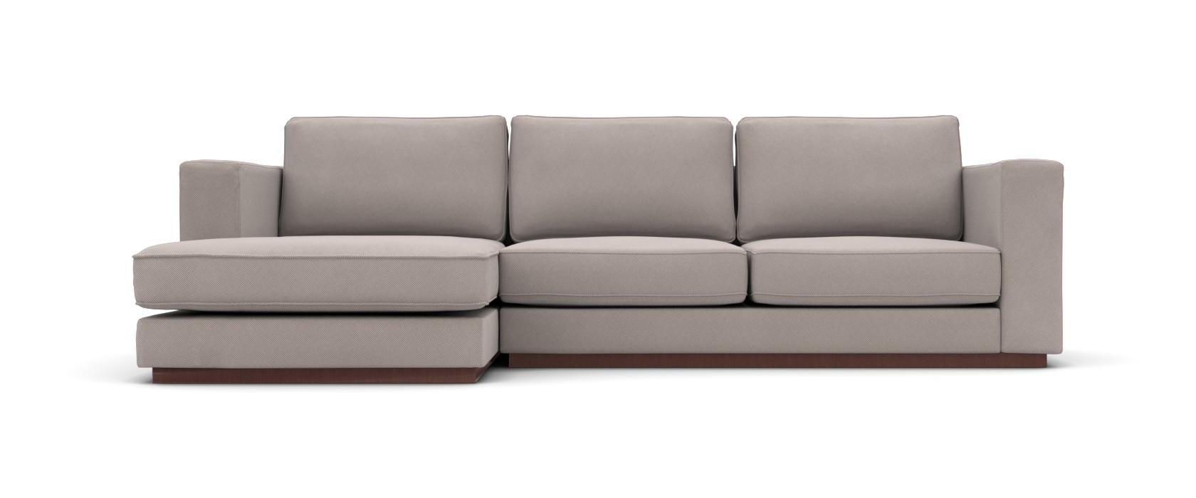 Sofa mit Chaiselongue Milano