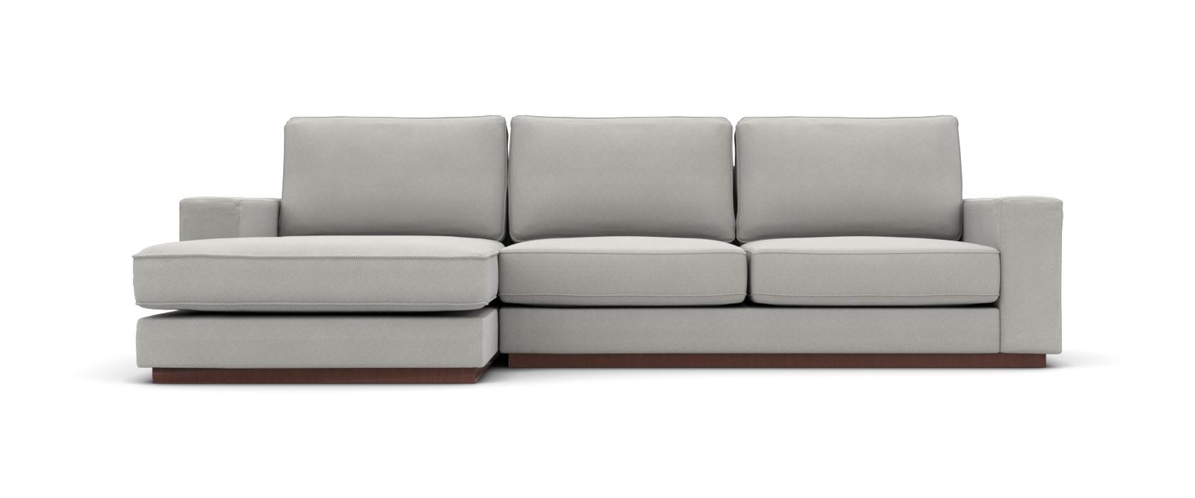 Sofa mit Chaiselongue Milano Lounge