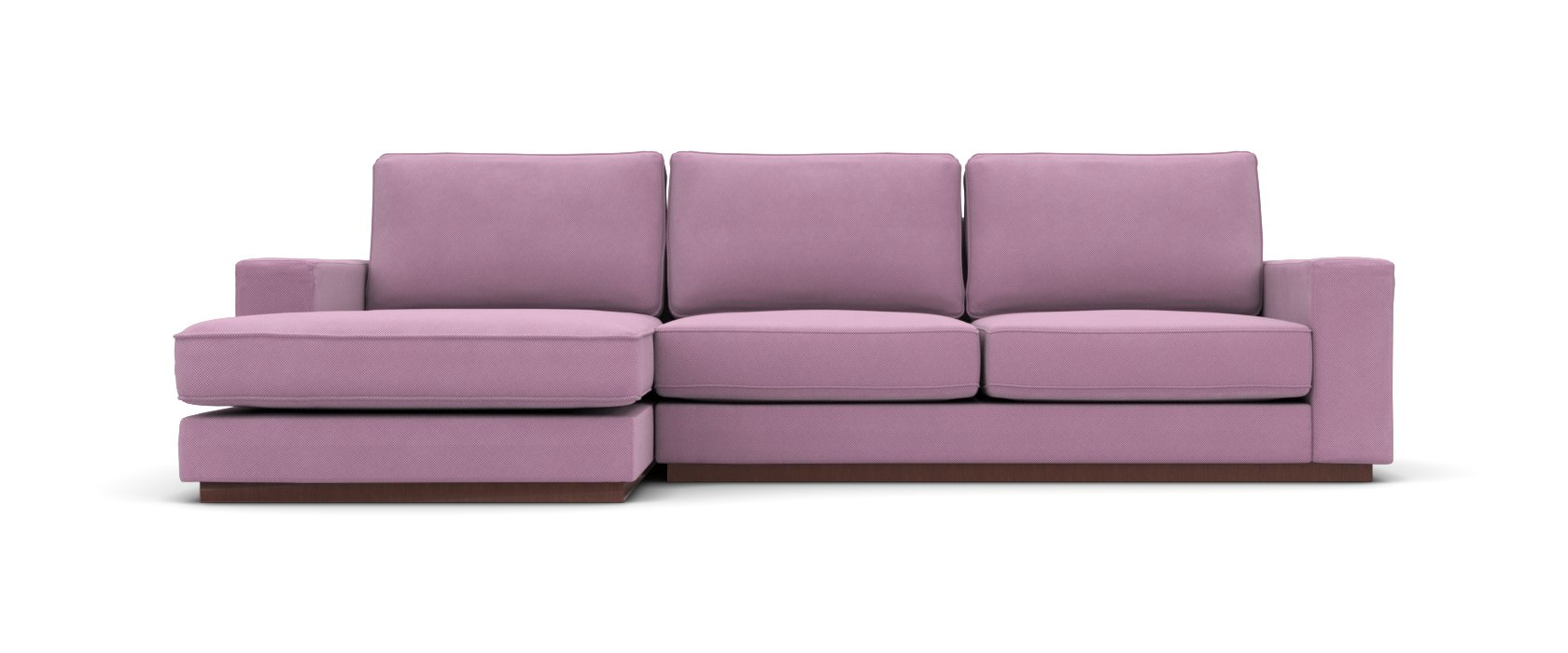 Sofa mit Chaiselongue Milano Lounge